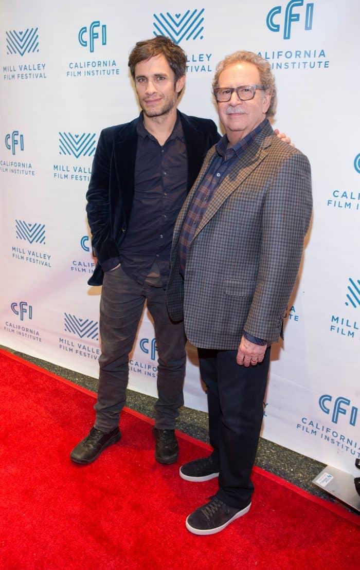 Gael Garcia Bernal (Mozart in the Jungle) with MVFF founder Mark Fishkin (Photo: Drew Altizer)