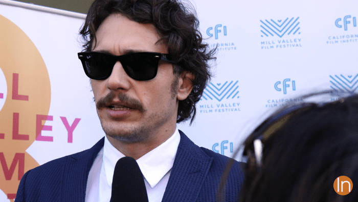 James Franco at the Mill Valley Film Festival (MVFF) - Video