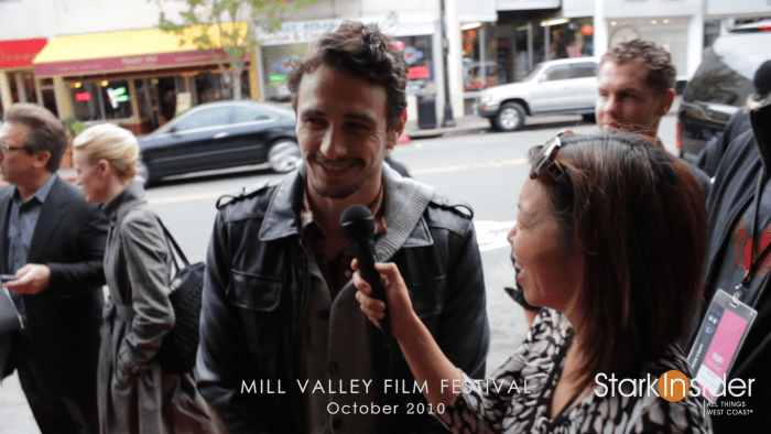 James Franco and Loni Stark - Goofball moment