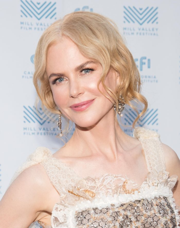 Nicole Kidman posing for press (MVFF)