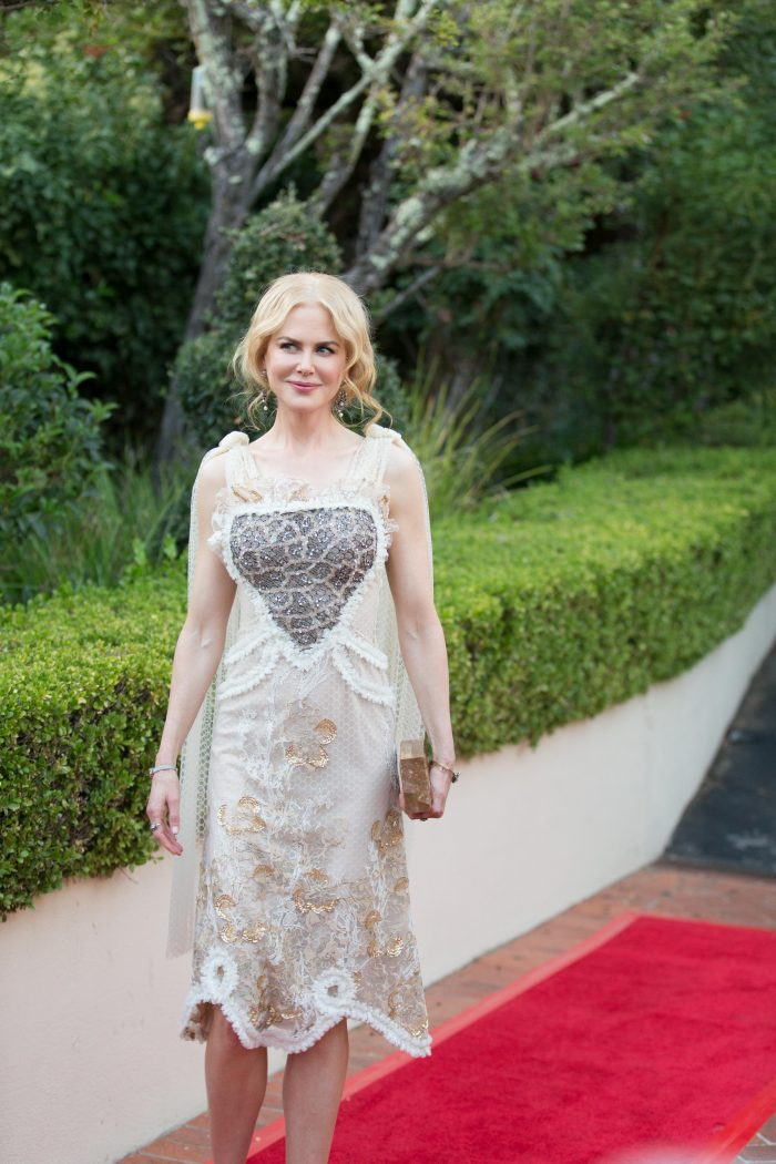 Nicole Kidman arrives for LION interviews, reception