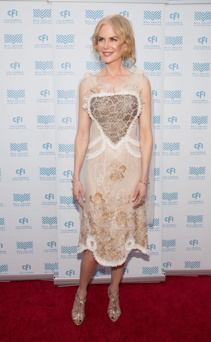 InStyle Nicole Kidman dress