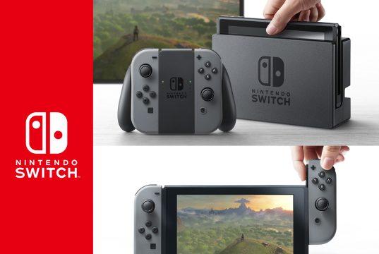Nintendo Switch Hybrid Game Console