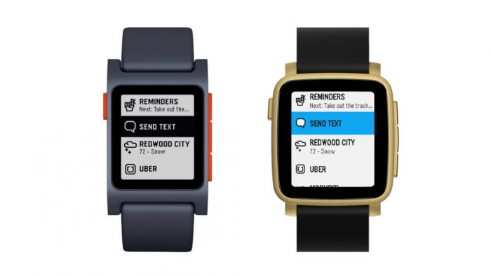 Pebble 2 User Interface Review