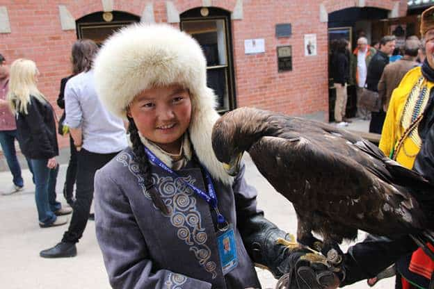 Aisholpan Nurgaiv - The Eagle Huntress in Telluride