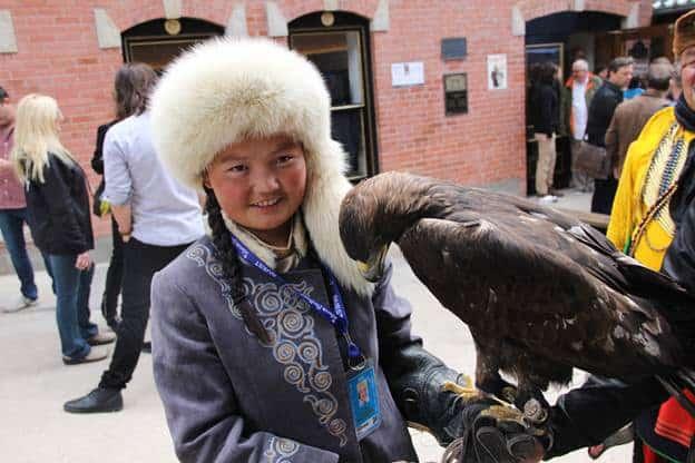 Aisholpan Nurgaiv - The Eagle Huntress in Telluride