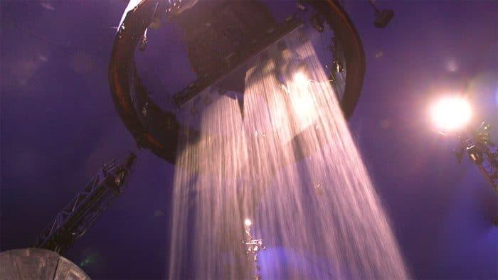 Rain Curtain - Backstage at Luzia by Cirque du Soleil