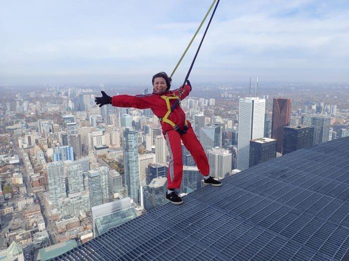 Loni Stark - EdgeWalk CN Tower, Toronto, Canada