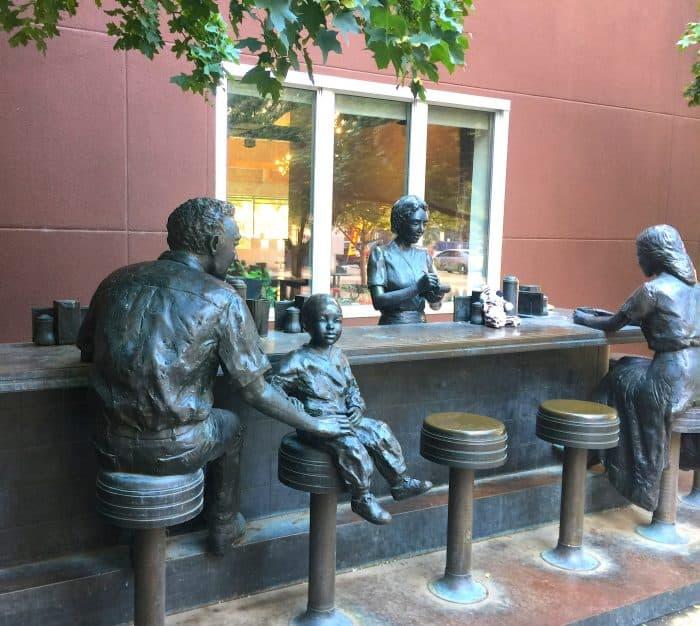 Sit-In street sculpture