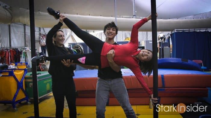 BTS: LUZIA by Cirque du Soleil with Loni Stark