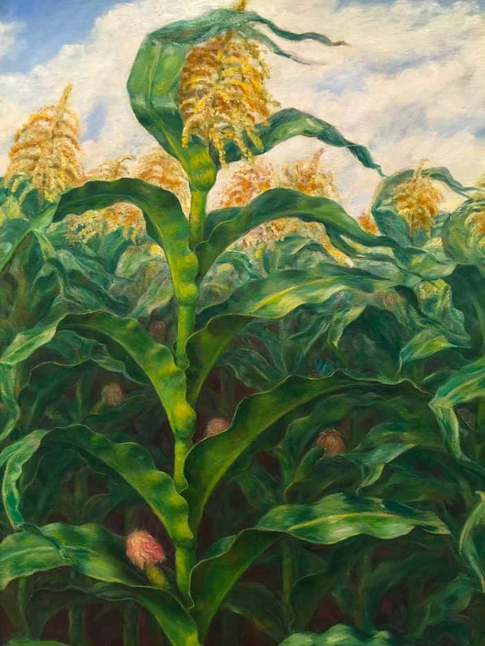 Painting at the Wichita Art Museum