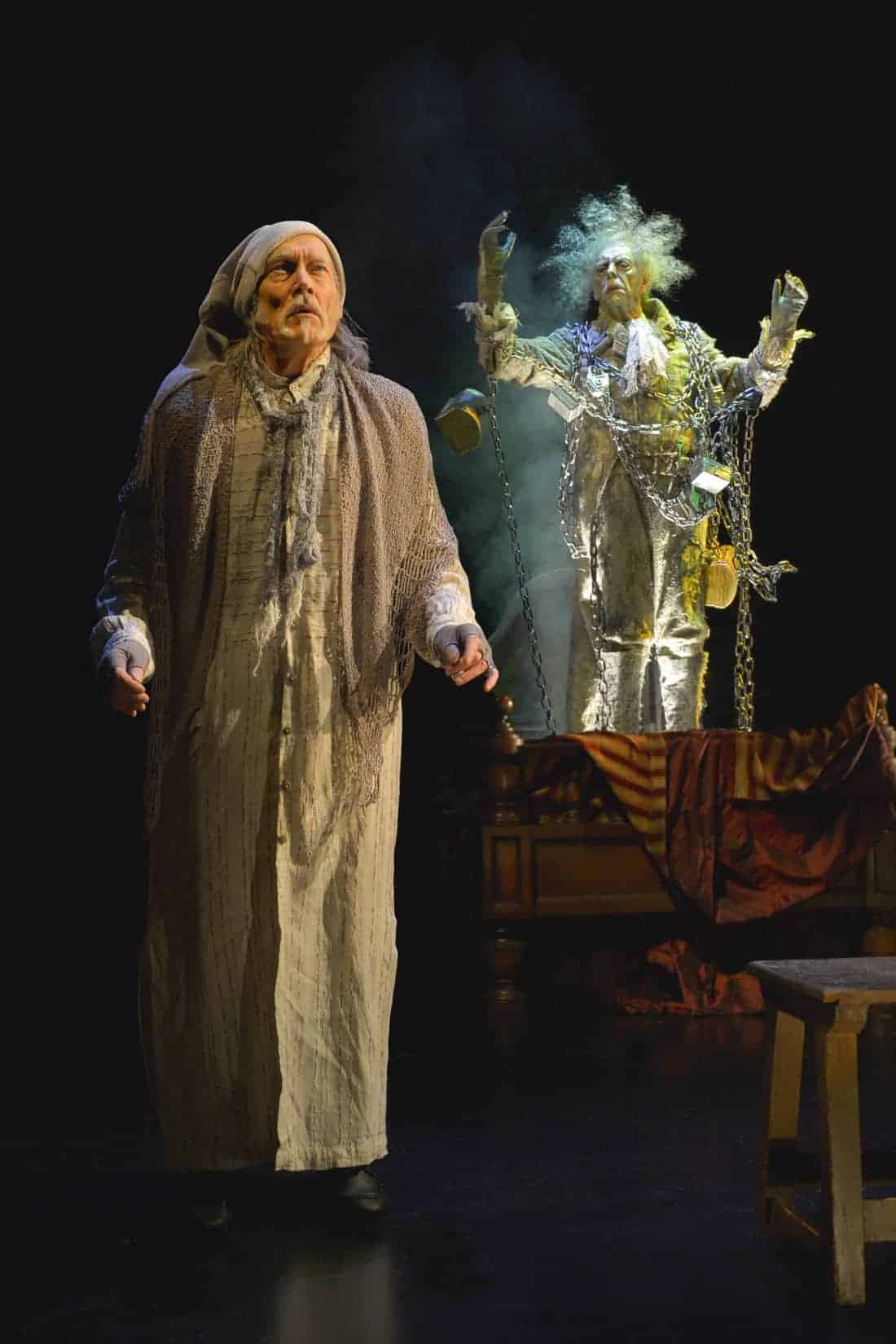 Christmas Carol Scrooge.Must See Theater A Christmas Carol At A C T Review