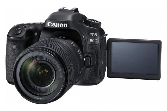 Canon EOS 80D Digital SLR Kit with EF-S 18-135mm f/3.5. ""