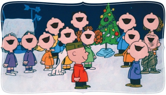 A Charlie Brown Christmas experience