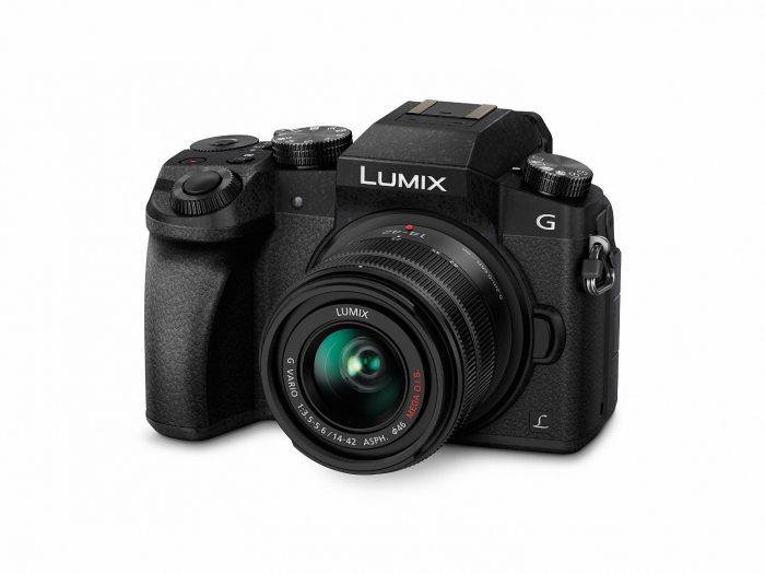 Panasonic LUMIX DMC-G7KK DSLM Mirrorless 4K Camera, 14-42 mm Lens Kit