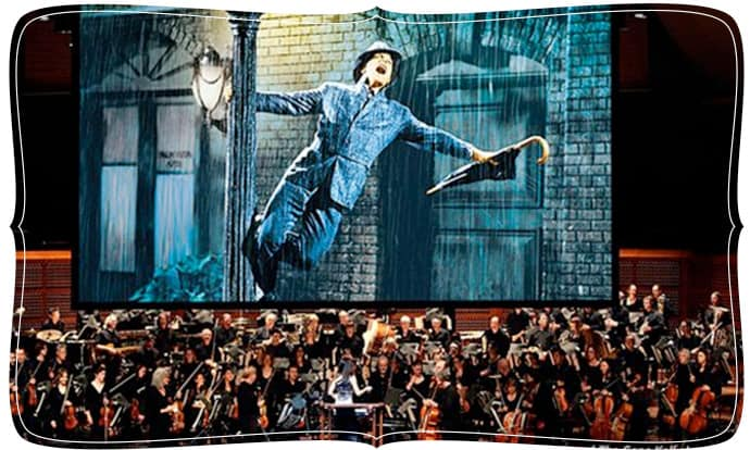 Singin' in the Rain on the big screen with the San Francisco Symphony
