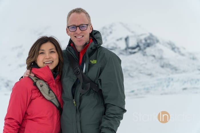 Loni and Clinton Stark in Iceland