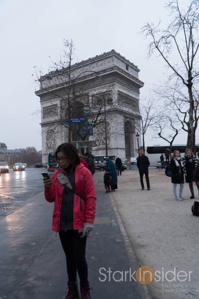 Arc de Triomphe - 3 Days in Paris with Loni Stark
