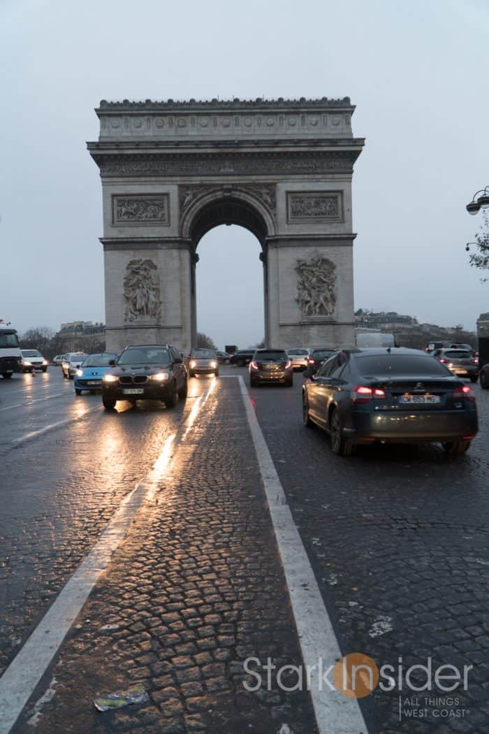 3 Days in Paris with Loni Stark - Arc de Triomphe