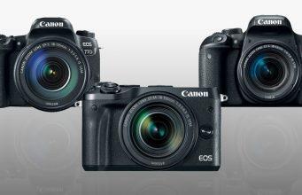 Canon EOS 77D vs. Rebel T7i vs. M6 Mirrorless comparison