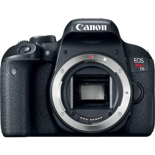 Canon EOS Rebel T7i DSLR Camera