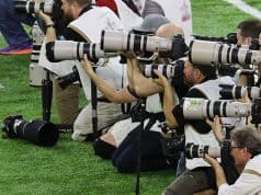Canon DSLRs dominate Super Bowl