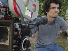 Damien Chazelle directing on set of LA LA LAND. Photo courtesy: Summit.