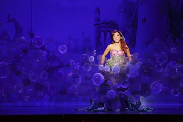 Diana Huey in Disney's THE LITTLE MERMAID. (Photo: Mark & Tracy Photography)