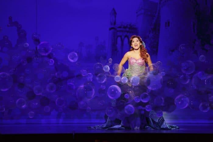 Diana Huey in Disney's THE LITTLE MERMAID. (Photo: Mark & Tracy Photography)