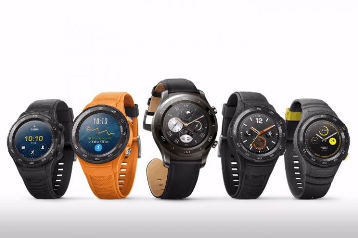 Huawei Watch 2 Models and Colors