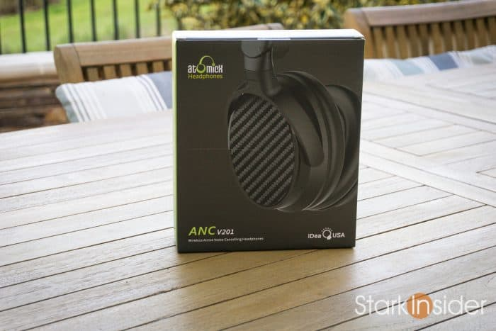 Hands On: IdeaUSA AtomicX Wireless Active Noise Cancelling Headphones (ANC V201)
