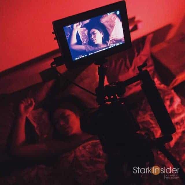 Stark Insider Video BTS with Loni Stark