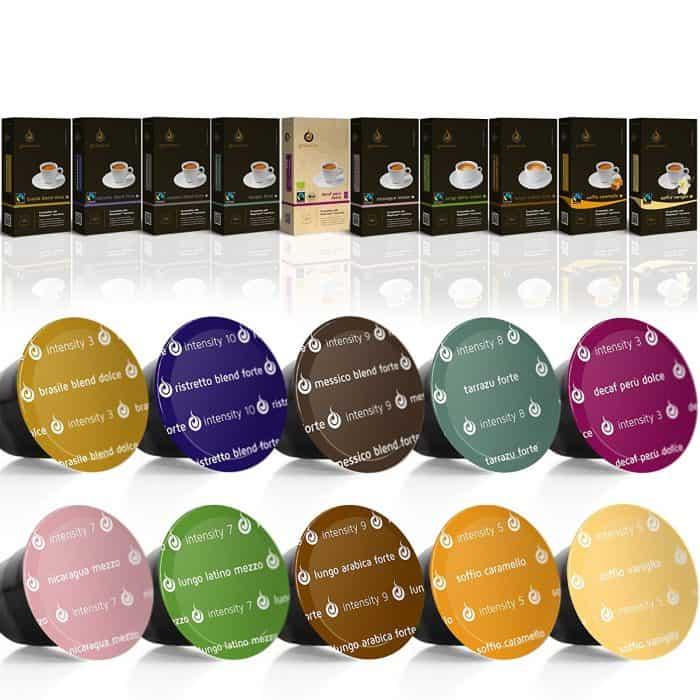 Gourmesso Nespresso Compatible Coffee Capsules