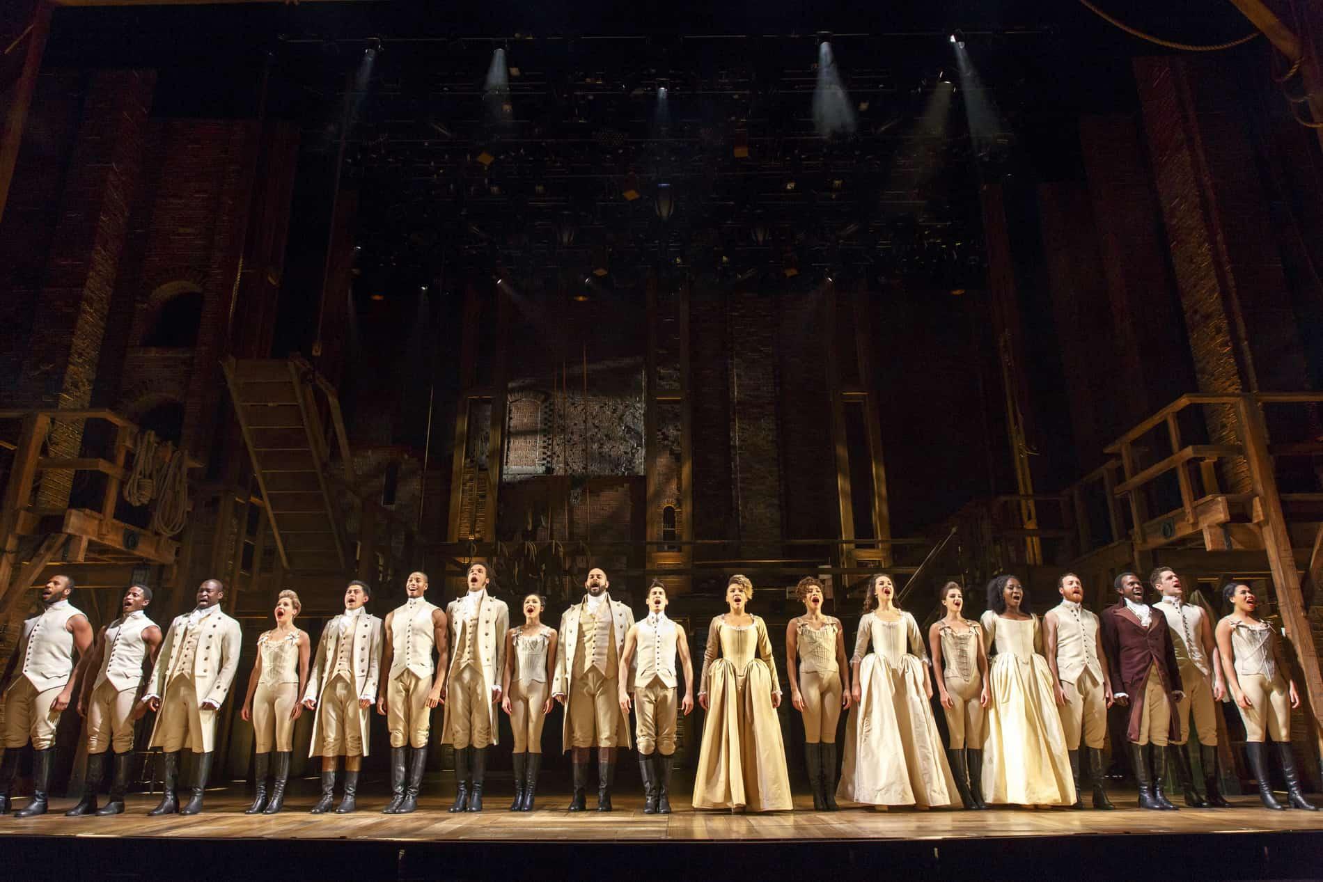 Hamilton at Orpheum Theatre