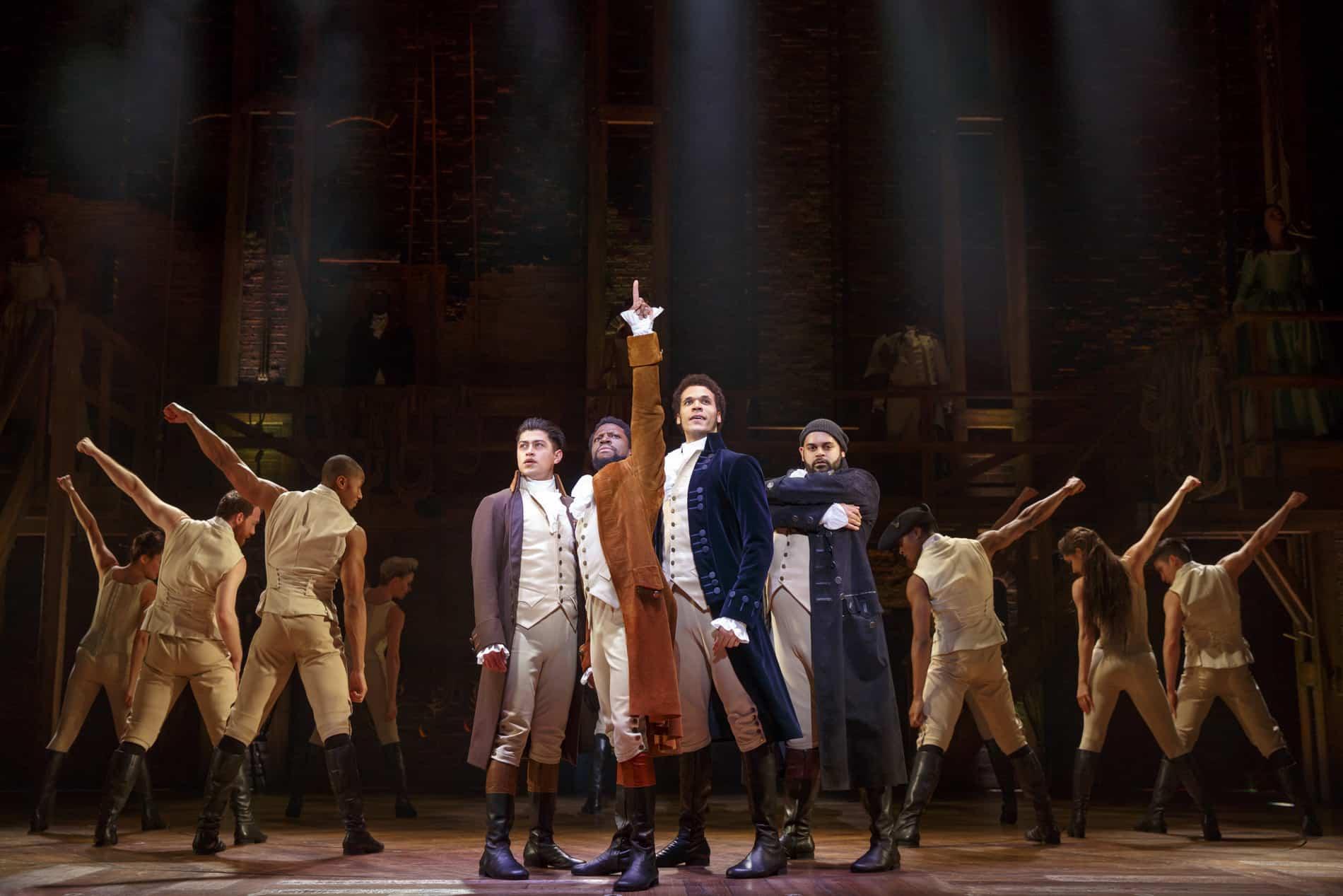 Hamilton Musical Cast - Review