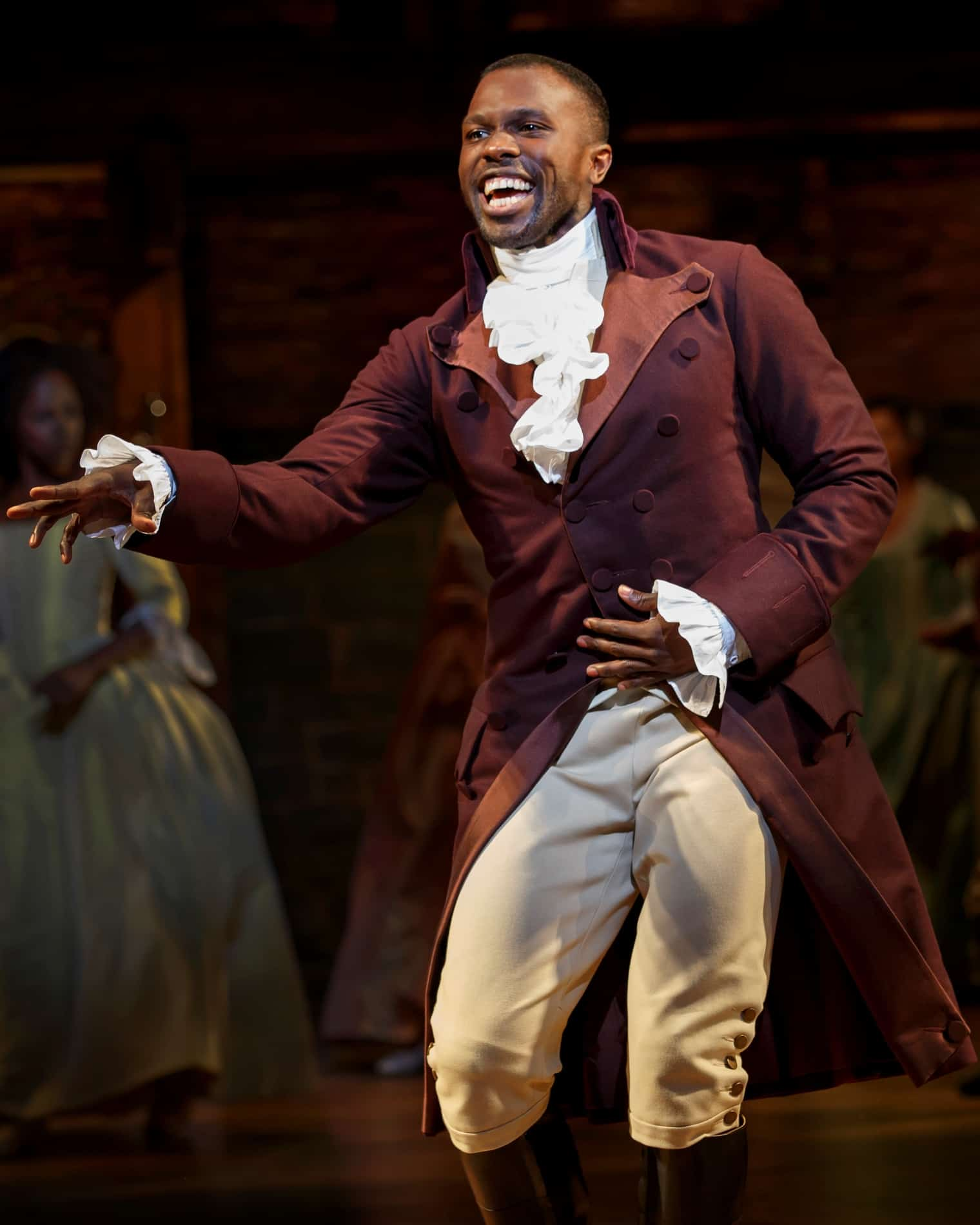 Hamilton Touring Broadway Review