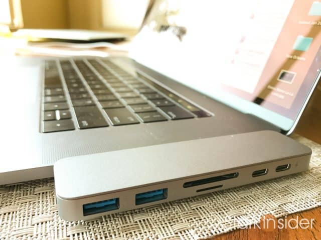 HyperDrive Hub Review for Apple MacBook Pro