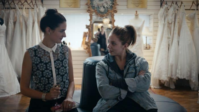 Charleigh Bailey and Seána Kerslake in Darren Thornton's A DATE FOR MAD MARY, playing at the 60th San Francisco International Film Festival, April 5 - April 19, 2017.