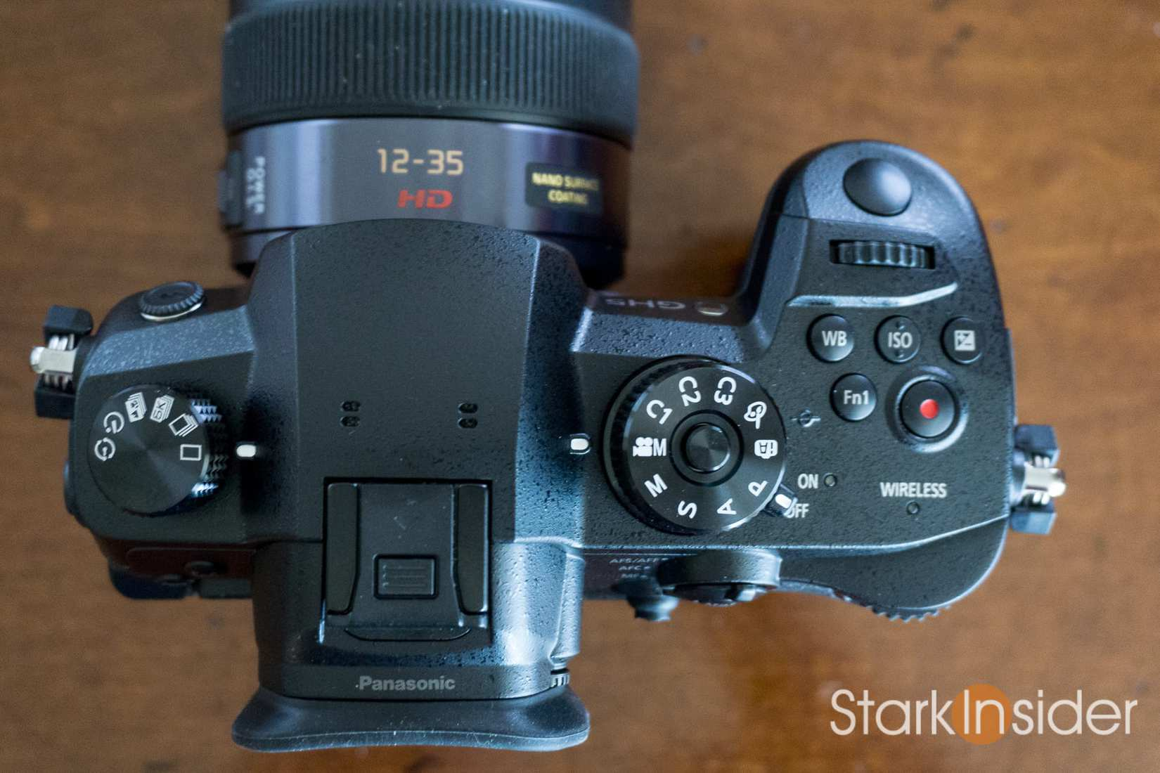 Panasonic Lumix GH5 First Look Review - Top of camera