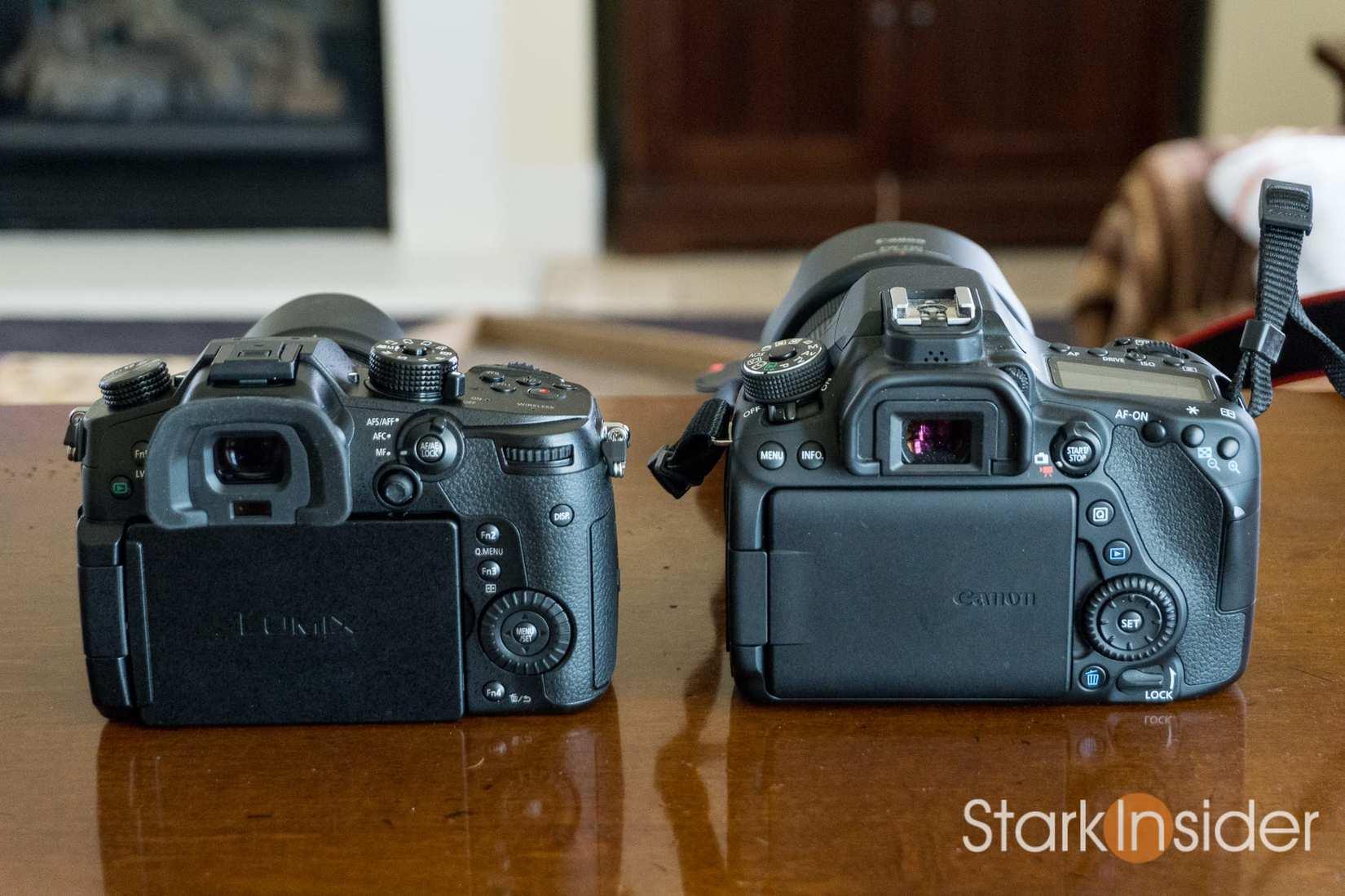 Panasonic GH5 vs. Canon EOS 80D