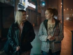 Tara Lee and Seána Kerslake in Darren Thornton's A DATE FOR MAD MARY, playing at the 60th San Francisco International Film Festival, April 5 - April 19, 2017.