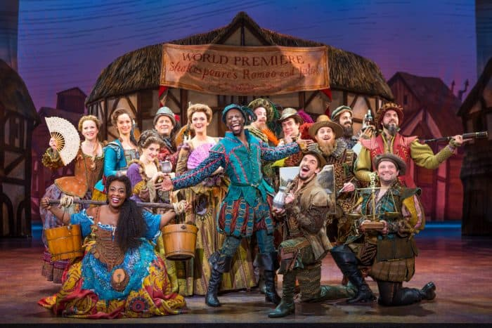Cast of 'Something Rotten!' National Tour