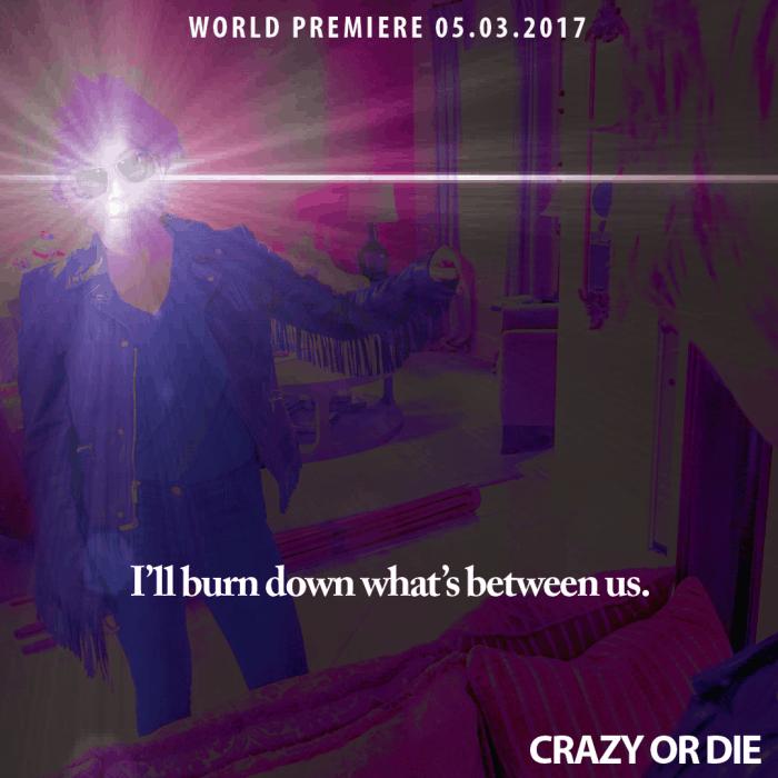 3. Crazy or Die short film starring Loni Stark