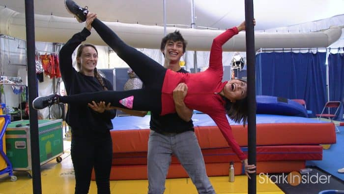 Backstage: Cirque du Soleil Luzia with Loni Stark of Stark Insider
