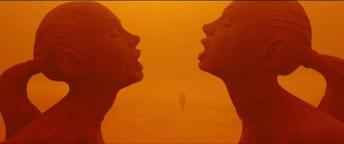Blade Runner cinematography by Roger Deakins