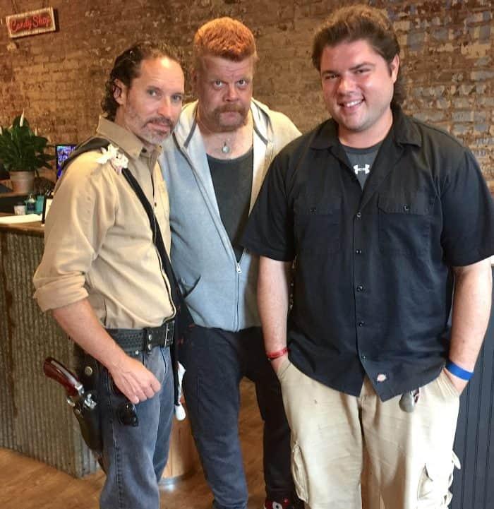 Walking Dead Lookalikes lead tours in Senoia