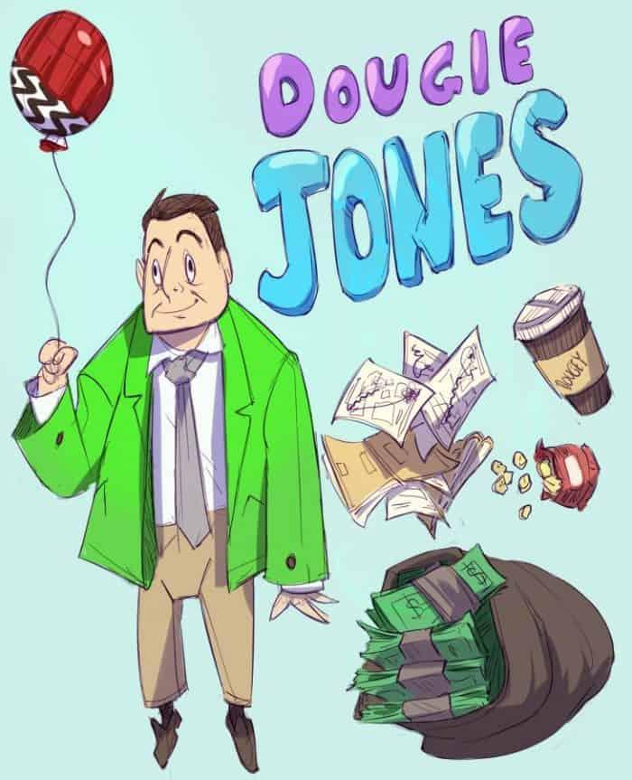 Twin Peaks artwork: Dougie Jones