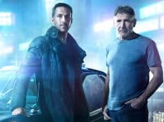 Blade Runner 2049 - Ryan Gosling and Harrison Ford on set