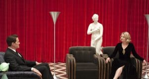 Twin Peaks The Return - Cooper and Palmer in the Red Room