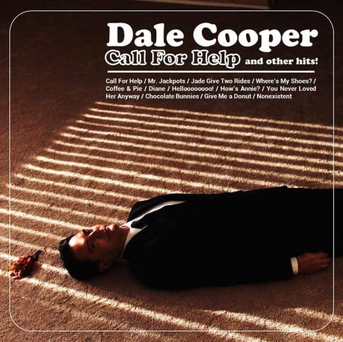 Twin Peaks Fan Artwork - Dale Cooper Call For Help jazz album